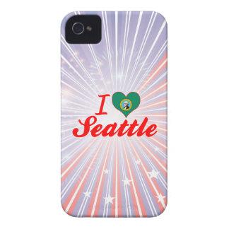 Amo Seattle, Washington Case-Mate iPhone 4 Carcasa