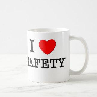 Amo seguridad taza clásica
