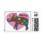 amo sellos de los elefantes