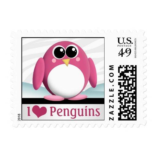 Amo sellos de los pingüinos