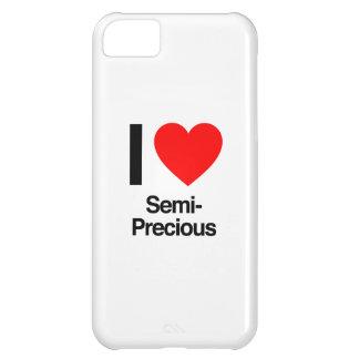 amo semiprecioso funda para iPhone 5C