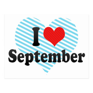 Amo septiembre postales