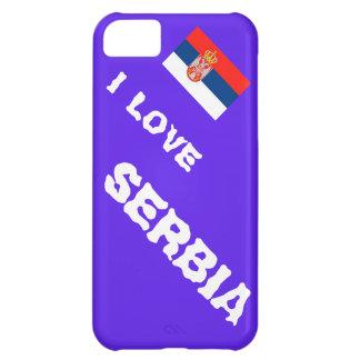 Amo Serbia Funda Para iPhone 5C