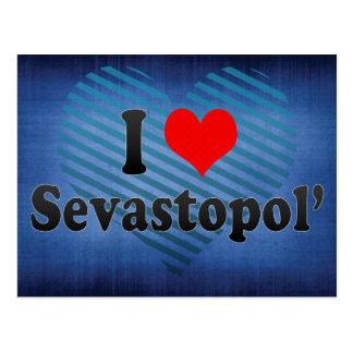 Amo Sevastopol', Ucrania Tarjeta Postal