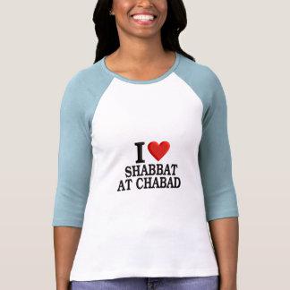 Amo Shabbat en Chabad Camisetas