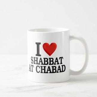 Amo Shabbat en Chabad Tazas De Café