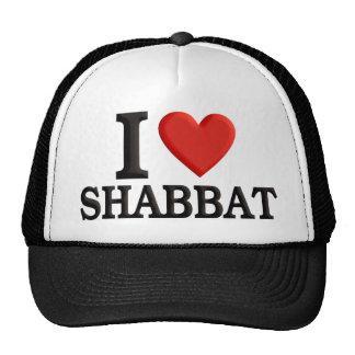 Amo Shabbat Gorros Bordados