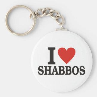 Amo Shabbos Llaveros Personalizados