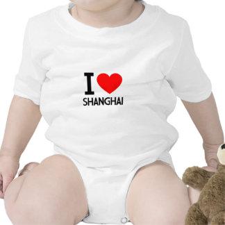 Amo Shangai Camisetas