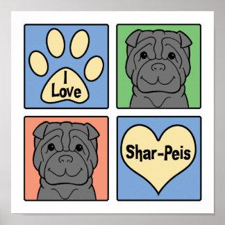 Amo Shar-Peis Póster
