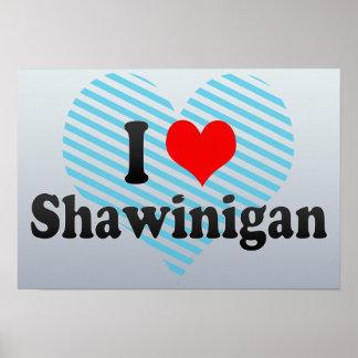 Amo Shawinigan Canadá Posters