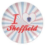 Amo Sheffield, Massachusetts Plato De Comida