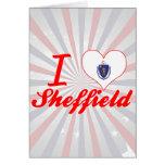 Amo Sheffield, Massachusetts Tarjeta