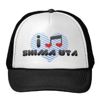 Amo Shima Uta Gorros Bordados