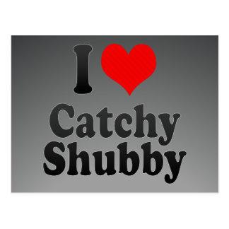 Amo Shubby pegadizo Postales