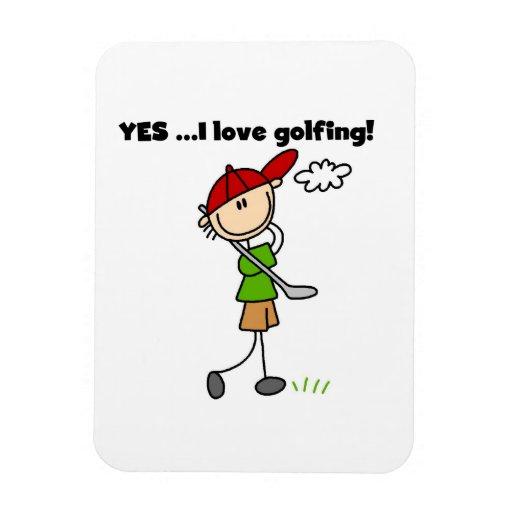 Amo sí el Golfing Iman Flexible