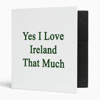 """Amo sí Irlanda que mucho Carpeta 1"""""""