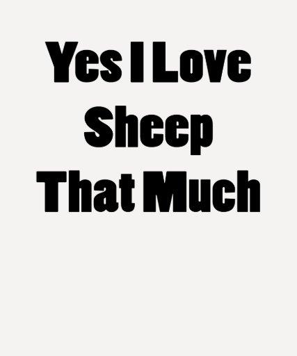 Amo sí las ovejas que mucho camisetas