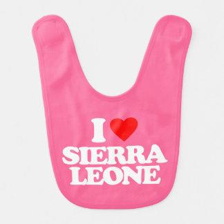 AMO SIERRA LEONE BABERO DE BEBÉ