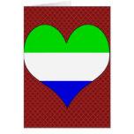 Amo Sierra Leone Tarjetón