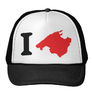 Amo símbolo del contorno de Mallorca Gorra