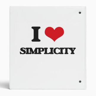 Amo simplicidad