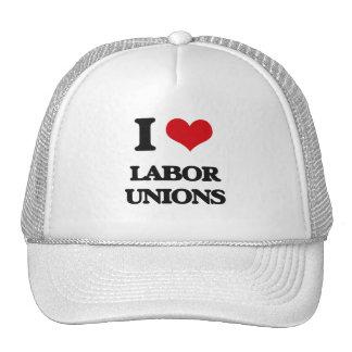 Amo sindicatos gorro