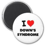 Amo Síndrome de Down Imán Para Frigorífico