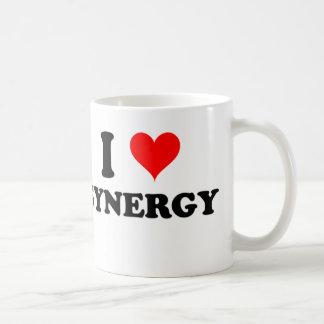 Amo sinergia taza de café