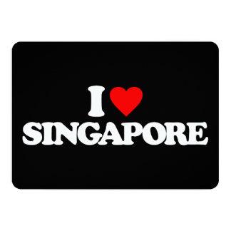 AMO SINGAPUR INVITACIÓN 12,7 X 17,8 CM