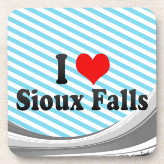 Amo Sioux Falls, Estados Unidos Posavasos De Bebidas
