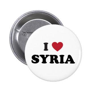 Amo Siria Pin Redondo 5 Cm