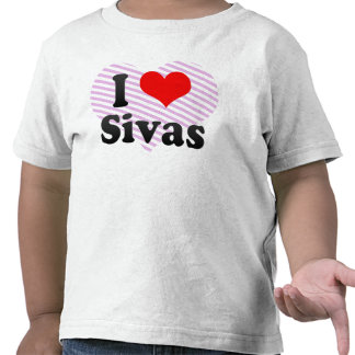Amo Sivas, Turquía Camisetas