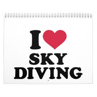 Amo Skydiving Calendarios