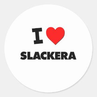 Amo Slackera Pegatinas