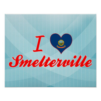 Amo Smelterville, Idaho Posters