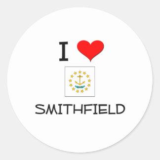 Amo Smithfield Pegatina