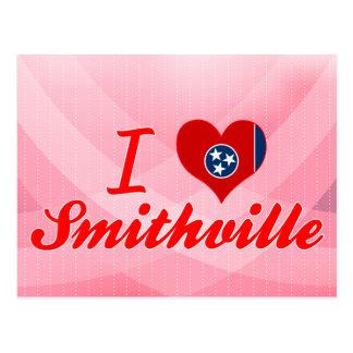 Amo Smithville, Tennessee Tarjeta Postal