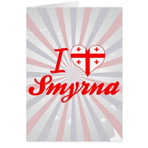 Amo Smyrna, Georgia Felicitación
