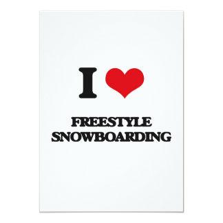 Amo snowboard del estilo libre comunicados