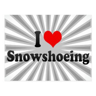 Amo Snowshoeing Postal