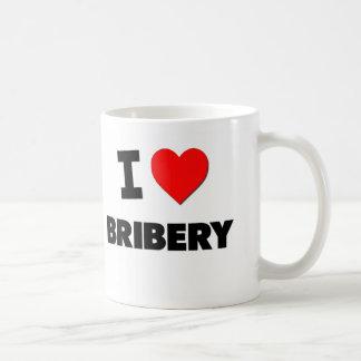 Amo soborno taza