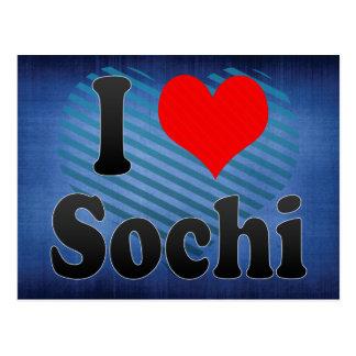 Amo Sochi, Rusia. Ya Lyublyu Sochi, Rusia Postales