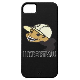 Amo softball funda para iPhone SE/5/5s