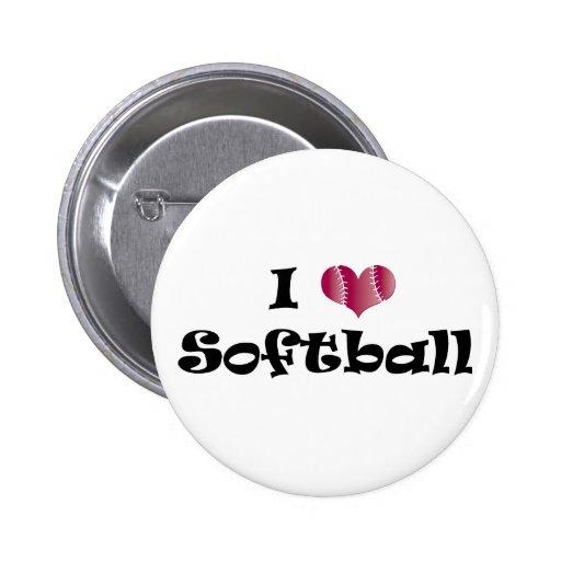 Amo softball pin
