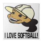 Amo softball tejas  ceramicas