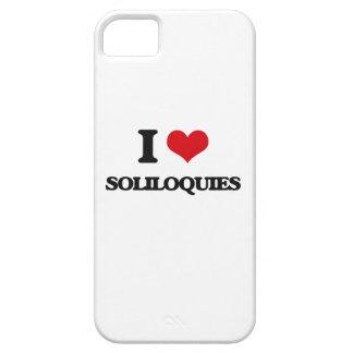 Amo soliloquios iPhone 5 cárcasa