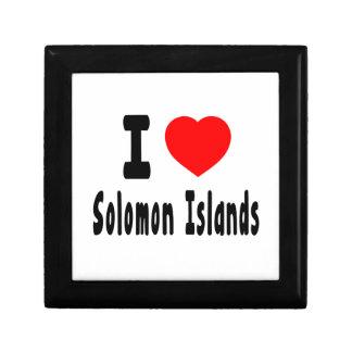 Amo Solomon Island. Cajas De Joyas