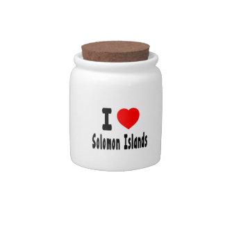 Amo Solomon Island. Platos Para Caramelos