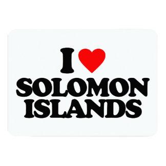 """AMO SOLOMON ISLAND INVITACIÓN 5"""" X 7"""""""